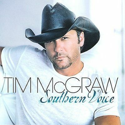 TIM McGRAW - SOUTHERN  VOICE - CD - NEW