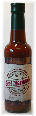 (100ml €2,70) BEEF MARINADE – von Low & Slow 240ml