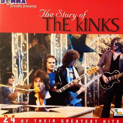CD Story of the Kinks: 24 Greatest Hits by The Kinks * NEW & FACTORY SEALED