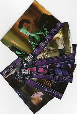 Doctor Who Timeless complete Silver Parallel + all Doctors + all Companions