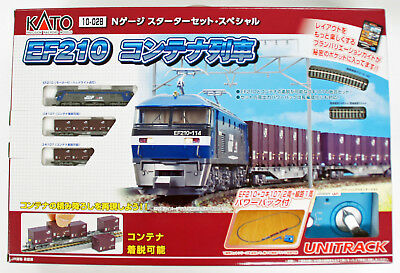 Kato 10-028 EF210 and Container Train N Scale Starter Set (N scale)
