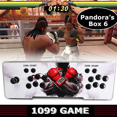Add Game By Yourself Arcade Console 1099 Video Fight Games Pandora's Box 6 HDMI