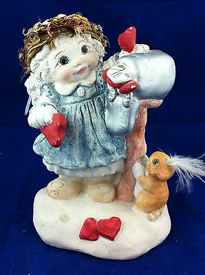 Dreamsicles calendar collection Feburary 1993 Special Delivery valentines cherub