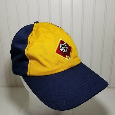 Vintage Official Cub Scout Wolf Cap Hat Boy's Medium Large Adjustable Clean EUC