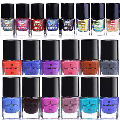 Nail Stamping Polish Holographic Chameleon Color Changing Dual-use Born Pretty