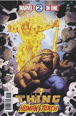 Marvel Two In One 1 Arthur Adams 1:25 Incentive Variant Nm Pre-Sale 12/13