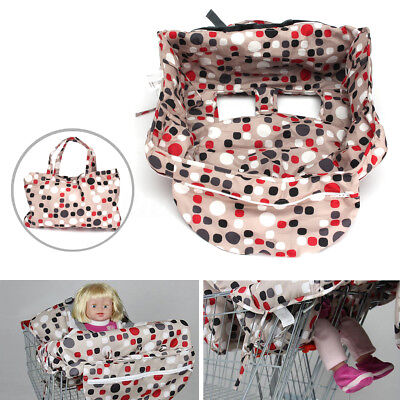 Baby Kids Shopping Trolley Cart Seat Pad Bag Child High Chair Cover Protector AU