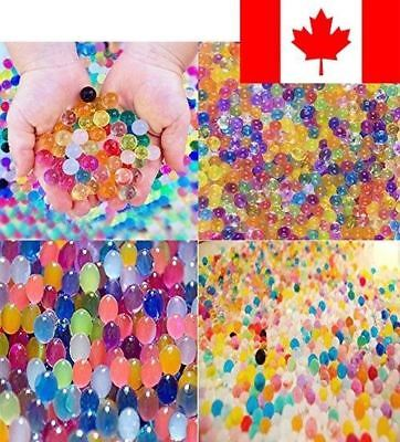 Water Beads Rainbow Mix (30,000 beads) for Orbeez Spa Refill, Sensory Toys an...