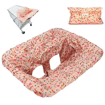 AU Baby Kids Child Shopping Trolley Cover Cart Seat Pad Chair Protector Foldable
