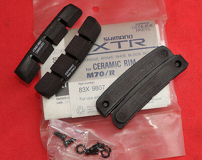 Shimano XTR Cartridge Brake Pads Ceramic  M70/R BR-M900 BR-M737 83X 9807