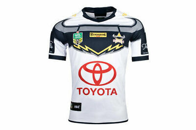 NQ Cowboys NRL 2018 Away ISC Jersey Adults, Kids Sizes S-3XL! In Stock!