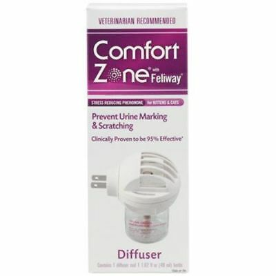 Comfort Zone with Feliway Diffuser Kit 48 ml | 30 Day Supply | Calming for Cats