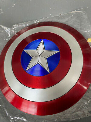 CATTOYS 1:1 Captain America Perfect Metal Shield The Film And Television Props