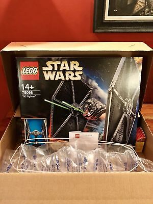 Lego Star Wars Tie Fighter Ucs Set 75095 New Sealed With Original Lego Shipper