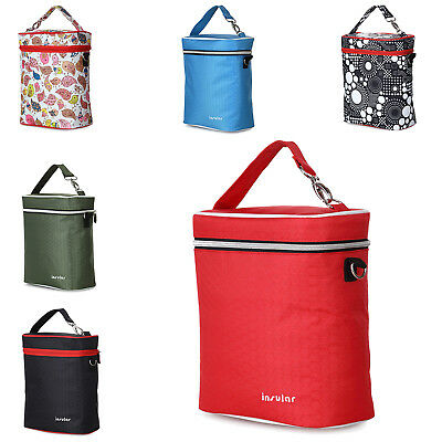 insular Baby Food Thermal Insulation Lunch Bag Baby Bottle Tote Bag Keep Ba A4W9