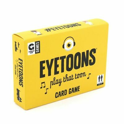 EyeToons - Guess The Song Family Card Game