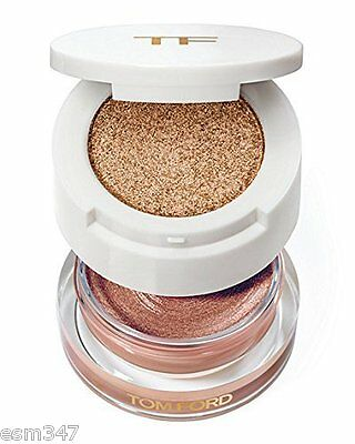 TOM FORD Cream & Powder Color For Eyes Eyeshadow Soleil Ltd Ed - 03 Golden Peach