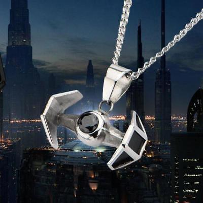 Star Wars TIE Fighter Stainless Steel Pendant Necklace