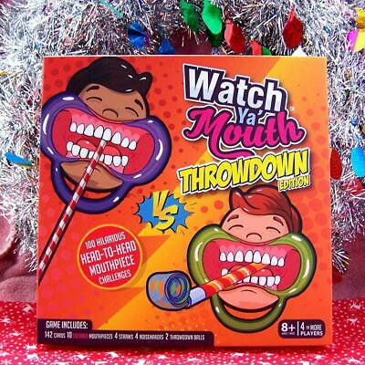 Watch Ya Mouth: The Outrageously Funny Mouth Guard Game