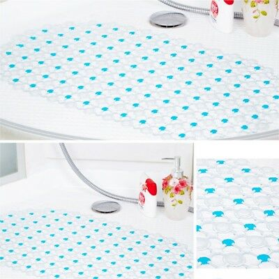 Shower Bath Tub Carpet Safety Hollow Non Slip Mats w/ Suction Cup Bubble Cushion