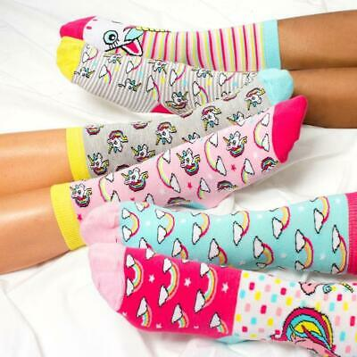 Magical Unicorn Odds Socks Gift Set - 3 Pairs