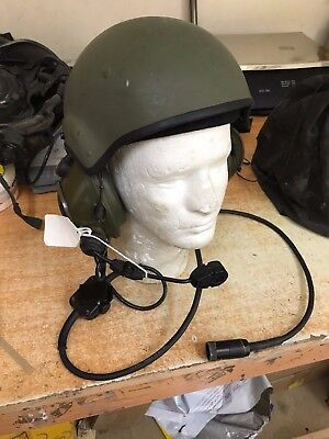 EARLY TYPE RACAL Combat Vehicle Crewman Helmet