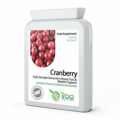 High Strength Cranberry 5000mg Extract Tablets Cystitis, Urinary Bladder Health