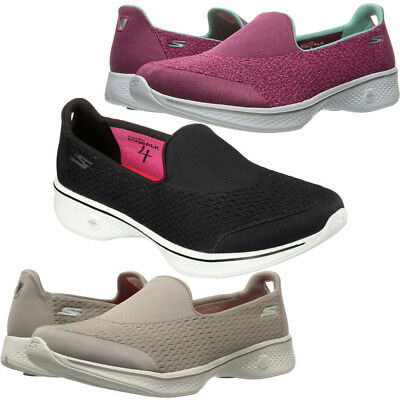 753f65337c7 SKECHERS WOMENS LADIES GO Walk 4 - Pursuit Slip On Active Trainers ...