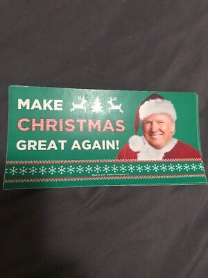 Trump Make Christmas Great Again Sticker