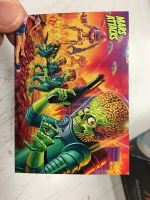 Mars Attacks Invasion Promo Card #p1 Topps 2013