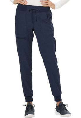 """Scrubs HeartSoul Women's """"The Jogger"""" Low Rise Tapered Leg Pant Navy HS030"""