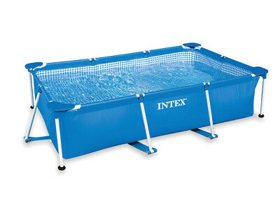 Intex Rectangular Frame Pool Swimmingpool versch. Größen Planschbecken
