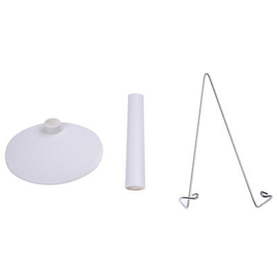 Support stand of Doll White Adjustable 5.9 to 8.3 inches. W8H6 H3E9