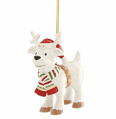 Lenox 2017 Ralph the Reindeer Ornament  Hard to find limited Quantity Produced