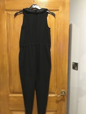 Girls Jumpsuit From Next Black. Age10 Years  Christmas Idea