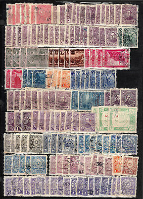 Paraguay Used Stock Collection On Double Sided Page