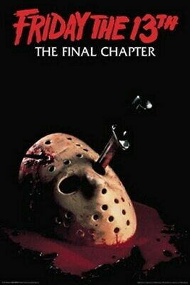 FRIDAY THE 13TH MOVIE POSTER The Final Chapter 24X36 - PRINT IMAGE PHOTO -PW0