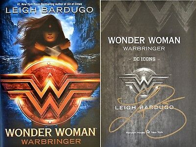 Leigh Bardugo~SIGNED IN PERSON!!~Wonder Woman: Warbringer~1st/1st + Photos!!