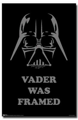 STAR WARS POSTER Darth Vader RARE HOT NEW 24X36 - PRINT IMAGE PHOTO -QW0