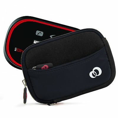 "4"" Portable WiFi HotSpot Modem Carrying Camera Case External Battery Sleeve"