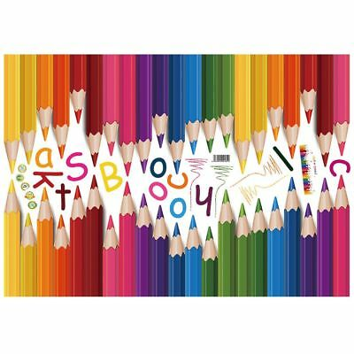 DIY Mural Pencil Back To School Art Words Quote Wall Sticker PVC Removable J3D3