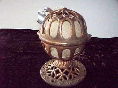 Antique Cast Iron String Holder General Country Store,counter Old Vtg. Cage