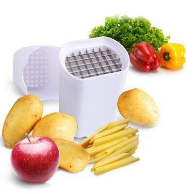 Perfect Fries One Step French Fry Cutter Vegetable Fruit Durable Potato Tool LD