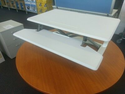 Dynariser Sit/Stand Desk Medium - ZDR2 WHITE **FREE NATIONWIDE SHIPPING**