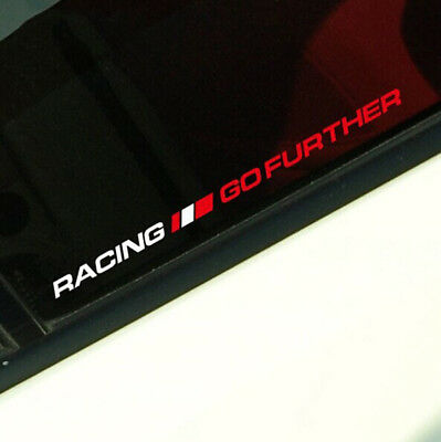 RACING GOFURTHER Car Sticker Motorcycle Reflective Window Trunk Vinyl Decal