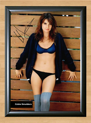 Cobie Smulders Nude How I met your Mother Signed Autographed A4 Poster Photo dvd