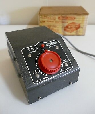 Vintage Tri-ang /Triang Power Controller Unit - Scale Model Railways Train Set