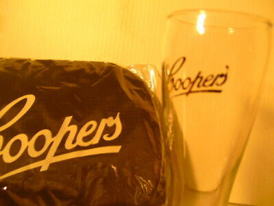 Coopers Backpack & Coopers Beer Glass