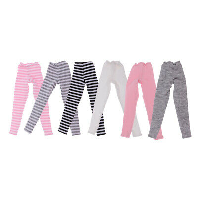 Striped/Solid Leggings FOR Blythe Doll BJD DOD LUTS Casual Clothing Accessories