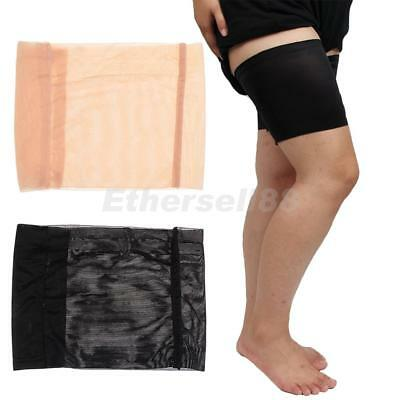 Women Anti-Chafing Non Slip Leg Pocket Elastic Thigh Bands Thigh Chafing Sock